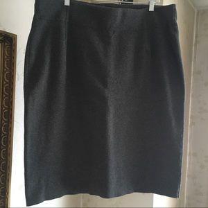 Heather Grey Skirt XL
